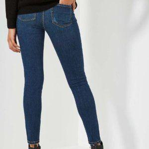 Joe Fresh Slim Mid Rise dark denim jeans 30 (10)
